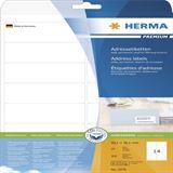 Herma 5076 Premium Adressetiketten 9.91x3.81 cm (25 Blatt (350 Etiketten))