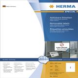Herma 10315 Universal-Etiketten 21.0x29.7 cm (100 Blatt (100 Etiketten))
