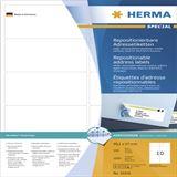 Herma 10316 repositionierbar Adressetiketten 9.91x5.7 cm (100 Blatt (1000 Etiketten))