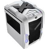AeroCool Strike-X Cube White Edition mit Sichtfenster Wuerfel ohne Netzteil weiss