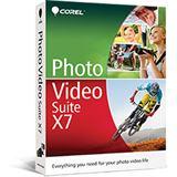 Corel Photo Video Suite X7 32/64 Bit Deutsch Videosoftware Vollversion PC (DVD)