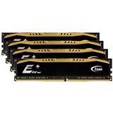 32GB TeamGroup Elite Plus Series DDR4-2133 DIMM CL15 Quad Kit