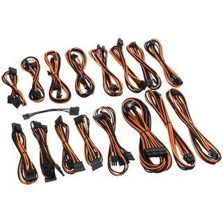 CableMod C-Series AXi, HXi, TX/CX/CS-M & RM Cable Kit - schwarz/orange