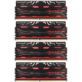 32GB Avexir Blitz1.1 Series DDR4-3000 DIMM CL16 Quad Kit