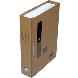 smartboxpro Archiv-Ordner, aus Wellpappe, inkl. Archiv-Clip