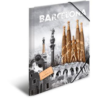"Herma Eckspannermappe ""Trendmetropolen Barcelona"", PP, A4"