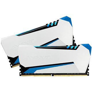 16GB Avexir Raiden blaue LED DDR3-2133 DIMM CL9 Dual Kit