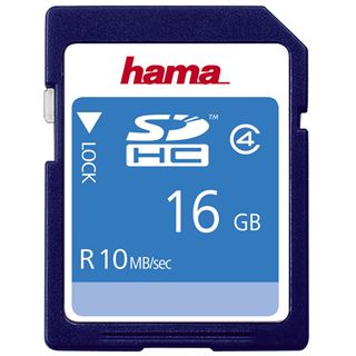 16 GB Hama High Speed SDHC Class 4 Bulk