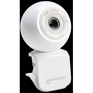 Revoltec Web Kamera W1 Collector Edition 0.3 MPixel 640x480 Weiß USB 2.0