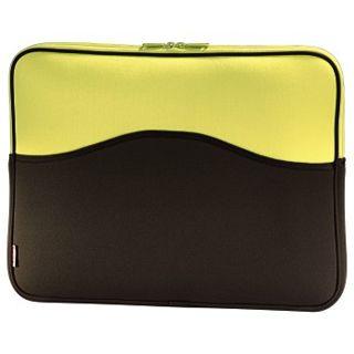 "Hama Notebook-Cover Memory 17.3"" (43,9cm) braun/gelb"