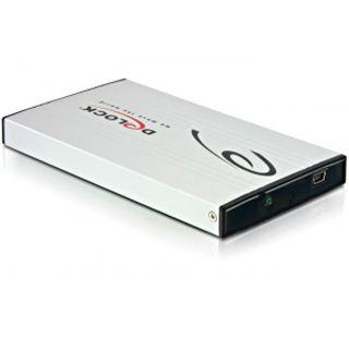 "Delock 42467 2.5"" (6,35cm) USB 2.0 silber"