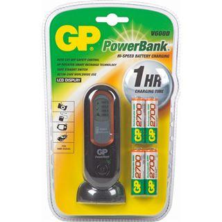 GP Batteries Akku Ladegerät GP PowerBank V600D