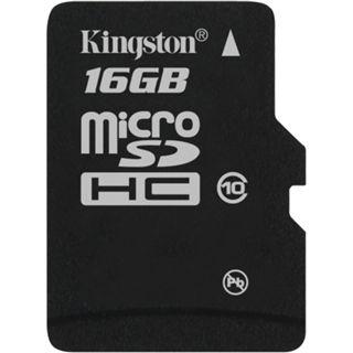 16 GB Kingston Standard microSDHC Class 10 Retail