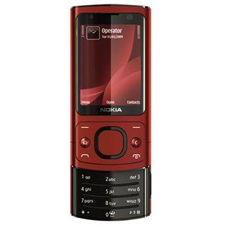 Nokia 6700 slide, 10 Tracks, Handy, red