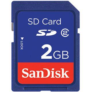 2 GB SanDisk Standard SD Class 2 Retail 2er-Pack