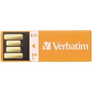 2 GB Verbatim Clip-it USB Drive orange USB 2.0