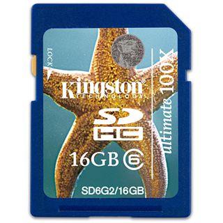 16 GB Kingston Ultimate SDHC Class 6 Bulk