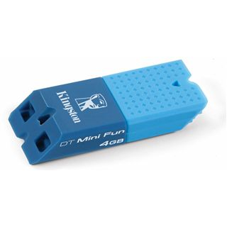4 GB Kingston DataTraveler Mini Fun blau USB 2.0