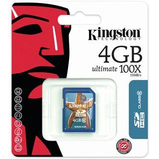 4 GB Kingston Standard SDHC Class 6 Retail