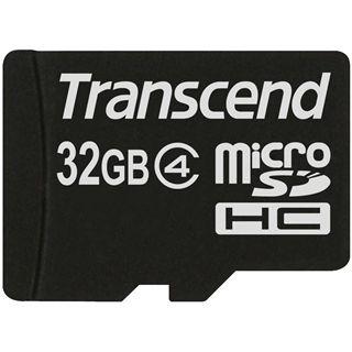 32 GB Transcend Standard microSDHC Class 4 Bulk