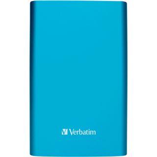"1000GB Verbatim Store and Go Portable 53036 2.5"" (6.4cm) USB 3.0 hellblau"