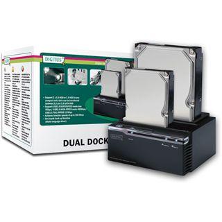 """Digitus USB 3.0 SATA Dual Dockingstation für 2.5"""" und 3.5"""" Festplatten (DA-70547)"""