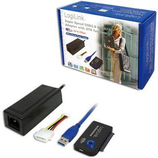 LogiLink Adapter USB 3.0 > SATA mit OTB m. NT