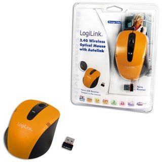 LogiLink ID0047 Mini USB orange (kabellos)
