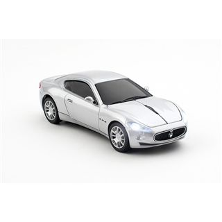 Pawas Trading GmbH Car-Mouse Maserati Gran Turismo USB silber (kabellos)