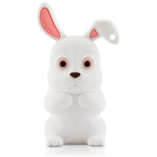 4 GB ICY BOX Rabbit Driver weiss USB 2.0