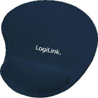 LogiLink Mauspad 220 mm x 200 mm blau