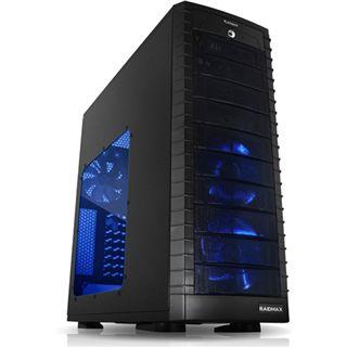 Raidmax Platinum Midi Tower ohne Netzteil schwarz