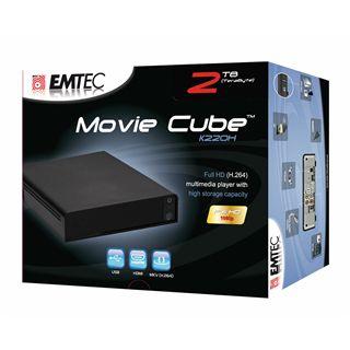Emtec Movie Cube K220H Full HD Multimediaplayer 2TB