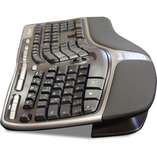 Microsoft Natural Ergonomic Keyboard 4000 OEM USB Deutsch schwarz (kabelgebunden)