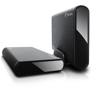 """2000GB Fantec DB-ALU3 14343 3.5"""" (8.9cm) USB 3.0 schwarz"""
