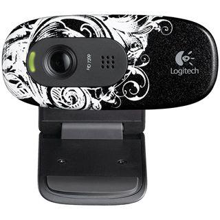Logitech HD WEBCAM C270 FLEUR DARK