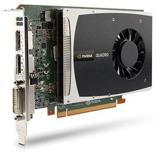 1GB NVIDIA Quadro 2000 Aktiv PCIe 2.0 x16 (Retail)