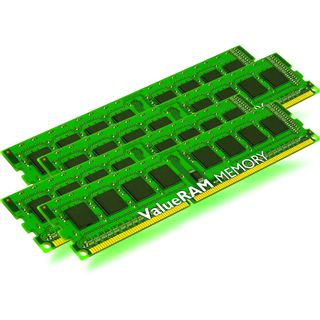 32GB Kingston ValueRAM DDR3-1333 regECC DIMM CL9 Quad Kit