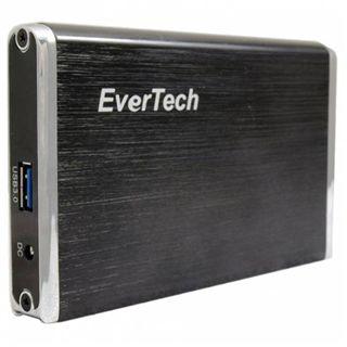 """2,5""""(6,35cm) Evertech USB 3,0 Festplatten Gehäuse"""