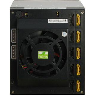 """Inter-Tech SNT-3051 SAS 3x5,25"""" Wechselrahmen für 5x 2,5""""/3,5"""" Festplatten (88887017)"""