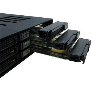 """Inter-Tech IPC Wechselrahmen ST-1060 SATA 6x 2,5""""(6,35 cm)"""