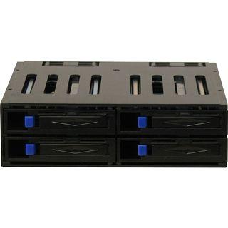 "Inter-Tech ST-1040SR 5.25"" Wechselrahmen für 4x 2.5"" Festplatten (88887020)"
