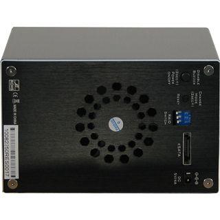 "Inter-Tech SUB RAID ST-2250 RES 2.5"" (6,35cm) eSATA schwarz"