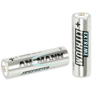 ANSMANN Extreme Lithium FR6 Lithium AA Mignon Batterie 1.5 V 2er Pack