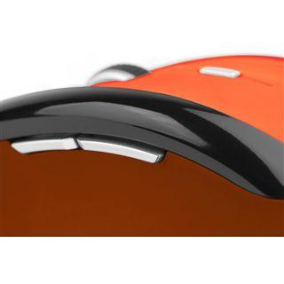Soyntec Maus INPPUTÂ R520Â ORANGE, Funk, optisch, USB