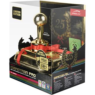 Speedlink Joystick Competition Pro Gold Edition + Games