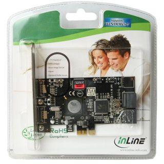 InLine 76612A 4 Port PCIe x1 Low Profile