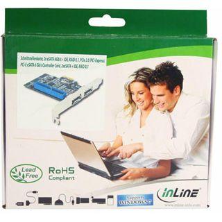 InLine 76614i 3 Port PCIe 2.0 x1 Low Profile