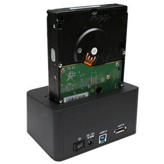 """InLine Quickport USB 3.0 Dockingstation für 2.5"""" und 3.5"""" Festplatten (76667B)"""