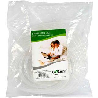 (€0,39*/1m) InLine 10.00m Spiralschlauch 6mm Weiß